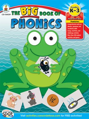 cover image of The Big Book of Phonics, Grades K - 3