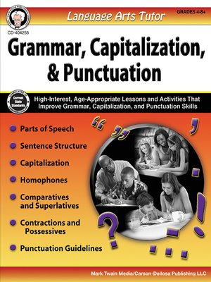 cover image of Language Arts Tutor