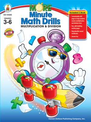cover image of Multiplication & Division, Grades 3 - 6
