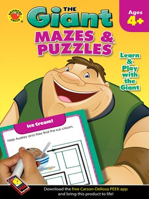 cover image of Mazes & Puzzles Activity Book, Grades PK - K