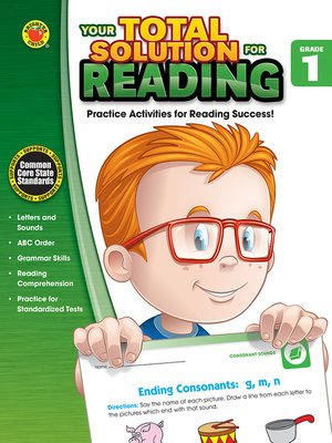 cover image of Your Total Solution for Reading, Grade 1