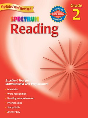 cover image of Reading, Grade 2