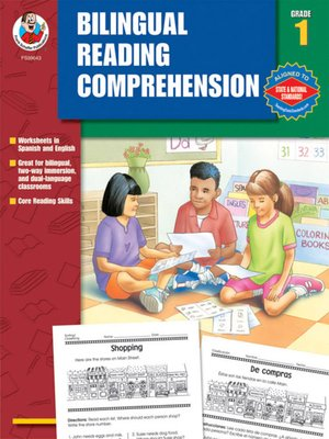 cover image of Bilingual Reading Comprehension, Grade 1