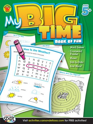 cover image of My Big Time Book of Fun, Grades K - 2