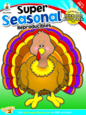 cover image of Super Seasonal Reproducibles, Grades PK - 1