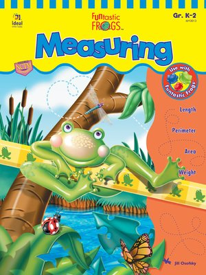 cover image of Funtastic Frogs Measuring, Grades K - 2