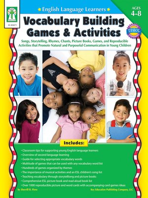 cover image of Vocabulary Building Games & Activities
