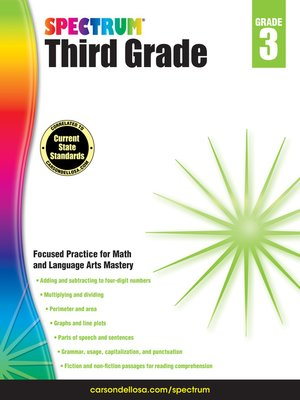 cover image of Spectrum Grade 3