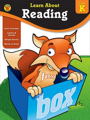 cover image of Reading, Grade K