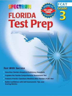 cover image of Florida Test Prep, Grade 3