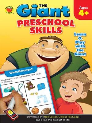 cover image of Preschool Skills Activity Book