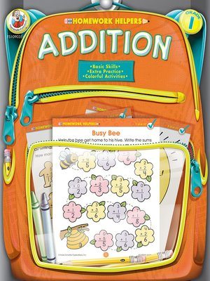 cover image of Addition, Grade 1