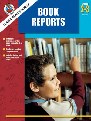 cover image of Book Reports, Grades 2 - 3