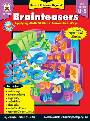 cover image of Brainteasers