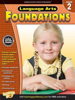 cover image of Language Arts Foundations, Grade 2