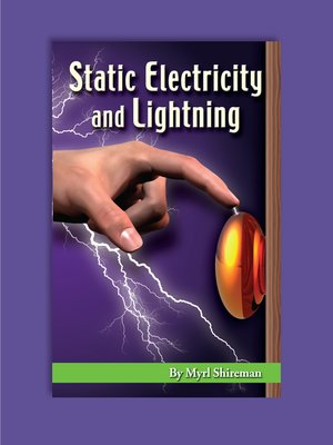 cover image of Static Electricity and Lightning