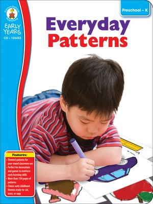 cover image of Everyday Patterns, Grades Preschool - K