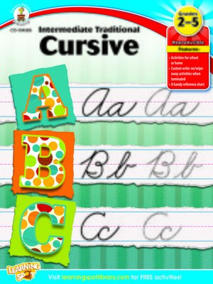 cover image of Intermediate Traditional Cursive, Grades 2 - 5