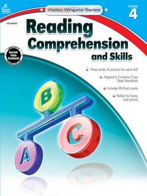 cover image of Reading Comprehension and Skills, Grade 4