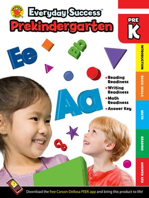 cover image of Everyday Success<sup>TM</sup> Prekindergarten