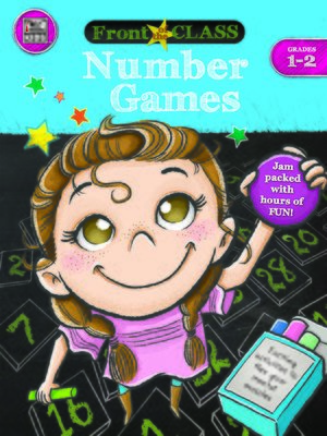 cover image of Number Games, Grades 1--2