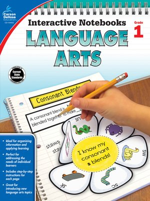 cover image of Language Arts, Grade 1