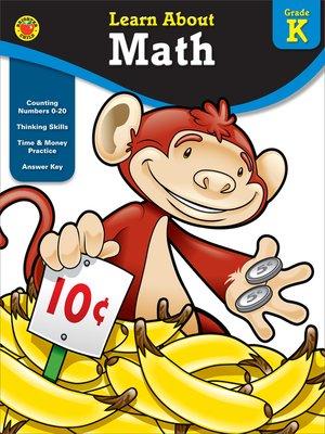 cover image of Math, Grade K