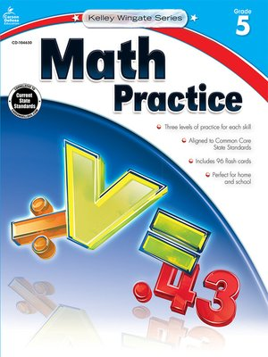 cover image of Math Practice, Grade 5