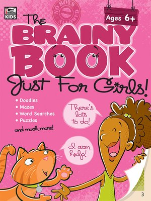 cover image of The Brainy Book Just for Girls!, Ages 5--10