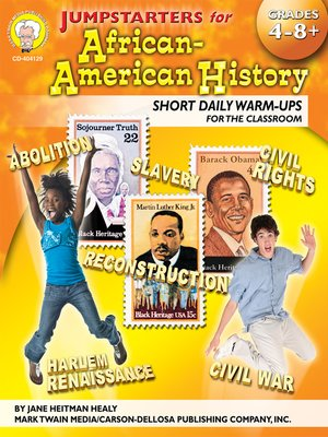 cover image of Jumpstarters for African-American History