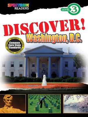 cover image of DISCOVER! Washington, D.C.