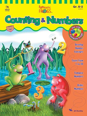 cover image of Funtastic Frogs Counting & Numbers, Grades K - 2