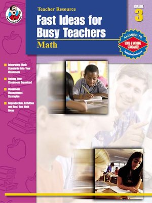cover image of Fast Ideas for Busy Teachers: Math, Grade 3