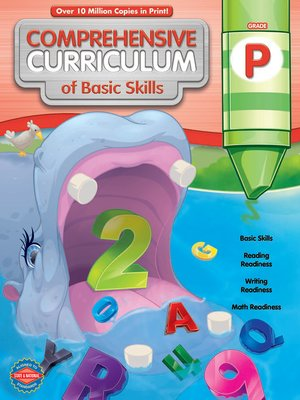 cover image of Comprehensive Curriculum of Basic Skills, Grade PK