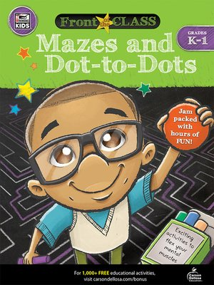 cover image of Mazes and Dot-to-Dots, Grades K--1