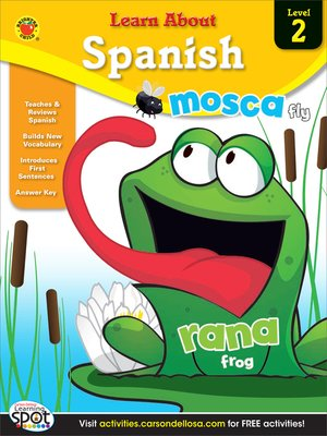 cover image of Spanish, Grades 1 - 3