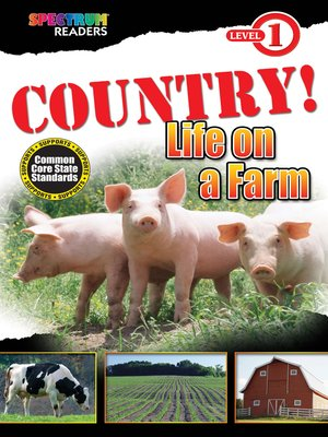 cover image of COUNTRY! Life on a Farm