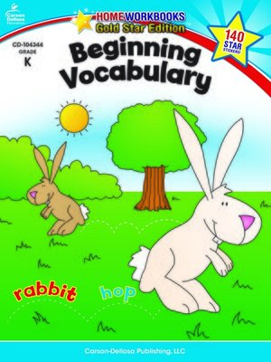 cover image of Beginning Vocabulary, Grade K