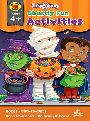 cover image of My Take-Along Tablet Ghostly Fun Activities, Ages 4--5
