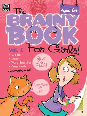 cover image of Brainy Book for Girls, Volume 1 Activity Book