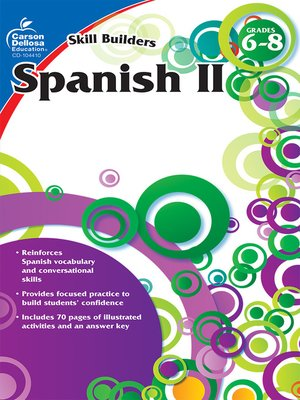 cover image of Spanish II, Grades 6--8