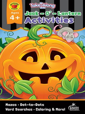 cover image of My Take-Along Tablet Jack-O'-Lantern Activities, Ages 4--5