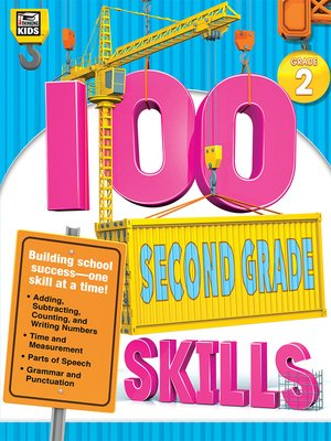 cover image of 100 Second Grade Skills