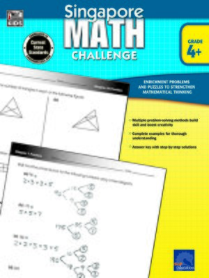 cover image of Singapore Math Challenge, Grades 4 - 6