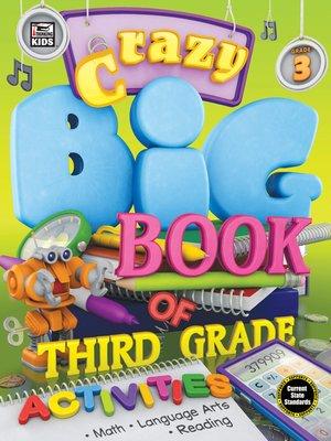 cover image of Crazy Big Book of Third Grade Activities