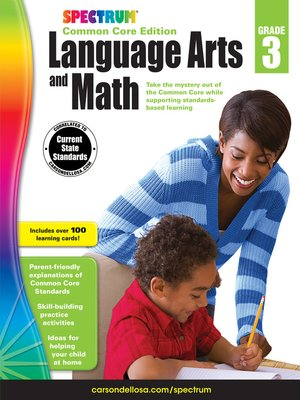 cover image of Spectrum Language Arts and Math, Grade 3