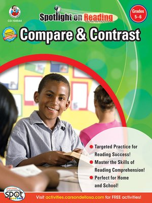 cover image of Compare & Contrast, Grades 5 - 6