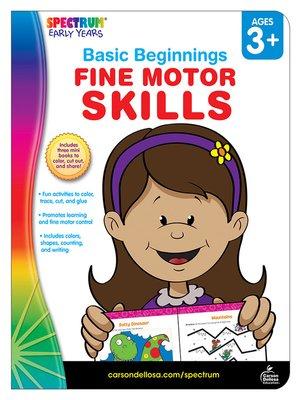 cover image of Fine Motor Skills, Grades Preschool - K