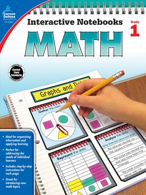 cover image of Math, Grade 1