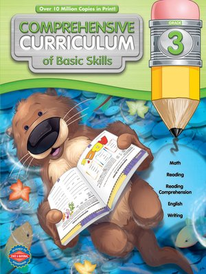 cover image of Comprehensive Curriculum of Basic Skills, Grade 3